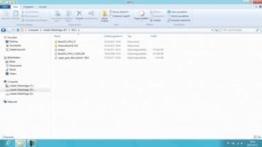 Nun führt auch Windows 8 die Ribbons ein