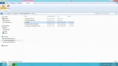Unter Windows 8 eine ISO-Datei mounten