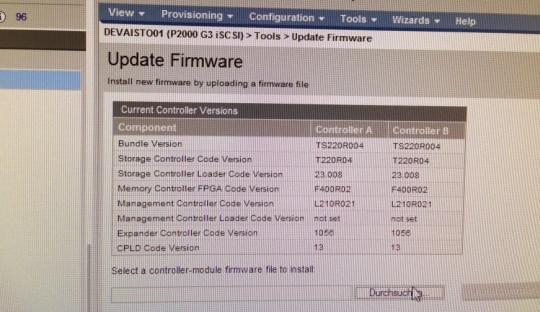 HP Storage Update