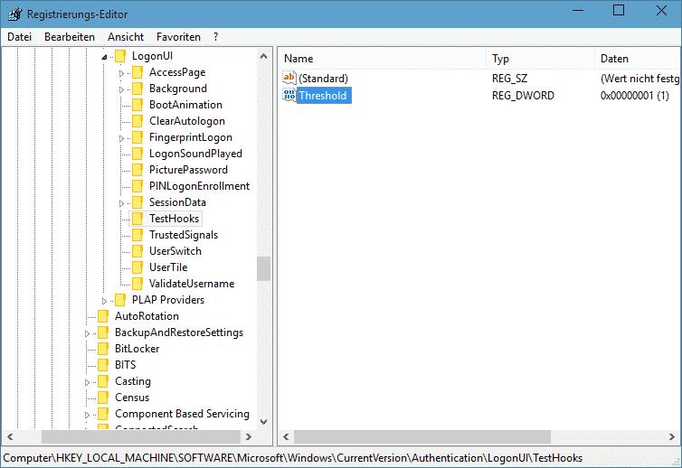 Anmeldebildschirm Registry - Kopie