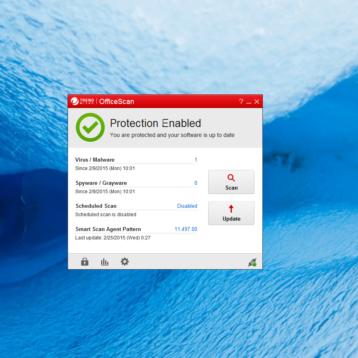 OfficeScan 11 unter Windows 10