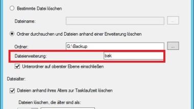 SQL Wartungscleanup richtig konfigurieren