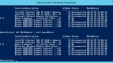 Hyper-V MAC Konflikt Ereignis ID 16945 (MsLbfoSysEvtProvider)