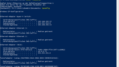 "Remote Session mit Powershell Befehl ""Enter-PSSession"""