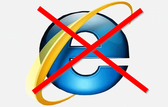 Internet Explorer End of Support