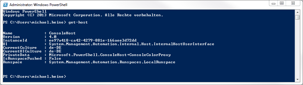 PowerShell 4.0 Windows 7