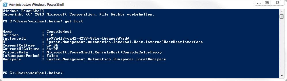 PowerShell 4.0 Windows 7
