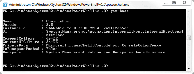 PowerShell Version 2.0