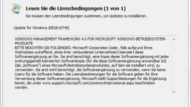 PowerShell Update auf Version 4.0