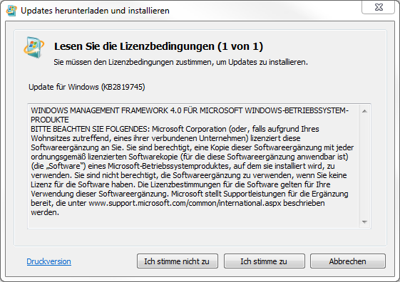 Windows Management Framework 4.0 Installation
