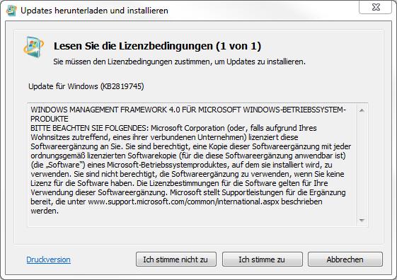 Windows Management Framework 4.0 Installation