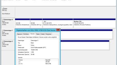 Bootpartition größer als 2 TB mit GPT (GUID Partition Table) und UEFI