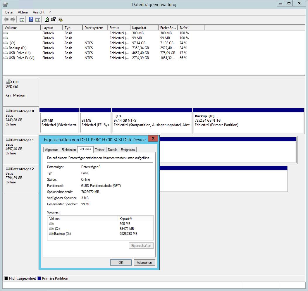 GPT Datenträger unter UEFI