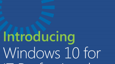 Kostenloses eBook für Windows 10 Professionals zum Download