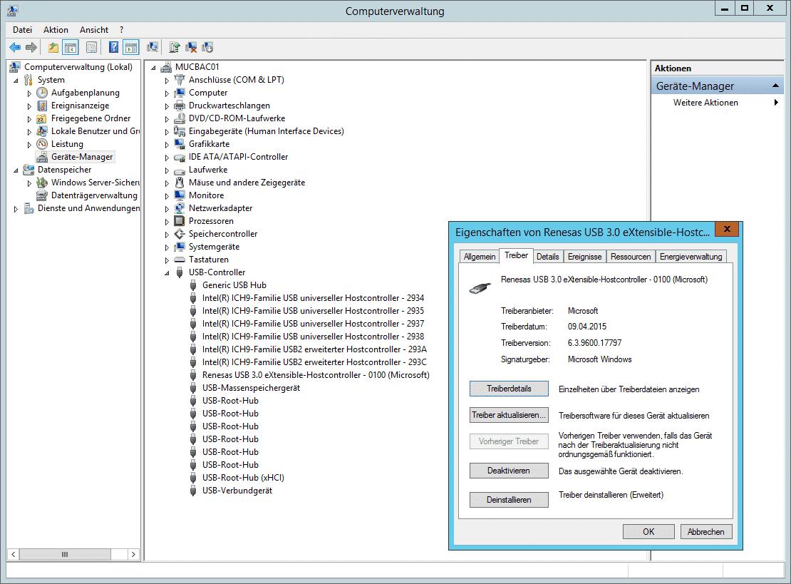 USB 3.0 Microsoft Treiber