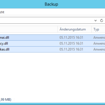 Dell Sonicwall E-Mail Security Version 8.2.1.4971 ist fehlerhaft
