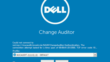 "Dell Change Auditor SQL-Server Express Fehlermeldung ""Could not connect to …"""