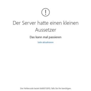 0x80072efd Fehlercode bei Windows 10 – Lösung