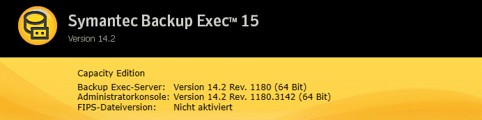 Backup Exec FP5 Rev. 1180
