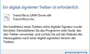 OfficeScan Patch 6125 hat Probleme mit Windows 10 Clean Installation