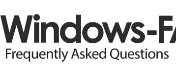Windows-FAQ mit neuem Logo