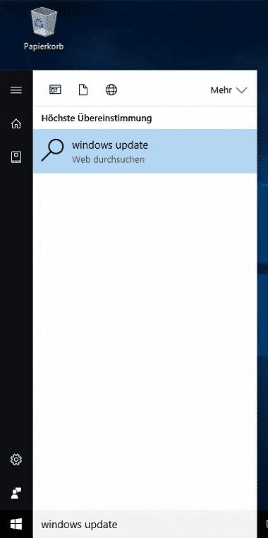Windows Update Problem Windows 10