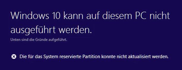 0xc1900201 Fehlercode