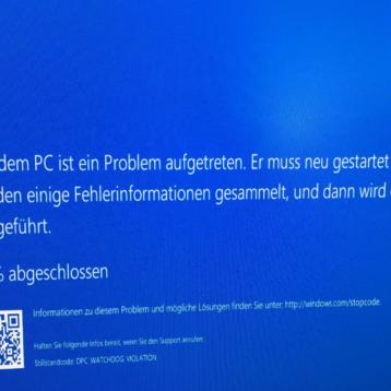 DPC Watchdog Violation – Windows Bluescreen