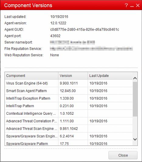 OfficeScan Client 12.0.1222