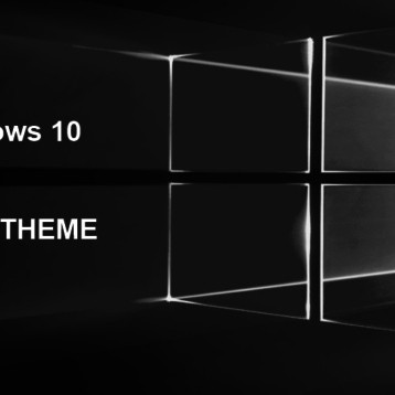 Dark Theme einstellen bei Windows 10