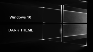 Dark Theme einstellen bei Windows 10