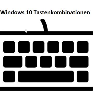 Übersicht Tastenkombinationen unter Windows 10