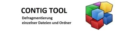 CONTIG Tool – Defragmentierung einzelner Dateien oder Ordner