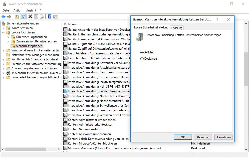 interaktive-anmeldung-letzten-benutzernamen-nicht-anzeigen