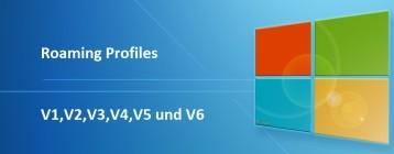 Roaming Profiles Versionen – .V6 seit Windows 10 Anniversary