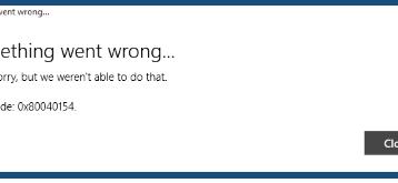 0x80040154 Fehler bei der Windows 10 Mail & Kalender App