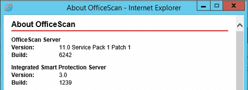 About OfficeScan