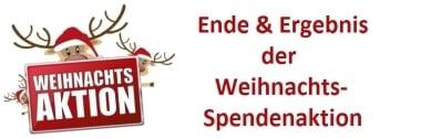 Ende & Ergebnis der Weihnachts-Spendenauktion auf Windows-FAQ