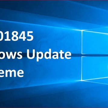 KB3201845 Windows Update Probleme