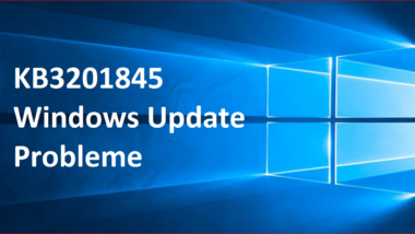 KB3201845 Windows Update Probleme