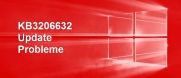 KB3206632 Update Probleme beim Download & Festplattenauslastung