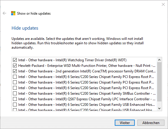windows-10-updates-markieren