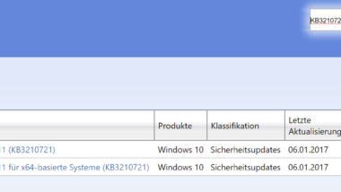 Windows Update KB3210721 für Windows 10 1511 (Build 10586.753) erschienen