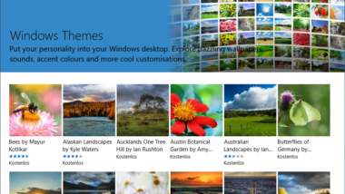 Neue Windows Themes & Designs App in Windows 10 Creators Update