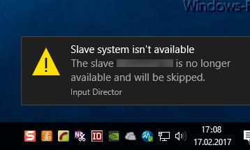 Windows 10 Balloon Tips (Toast Nachrichten) ausschalten und Classic Balloon Tips einschalten
