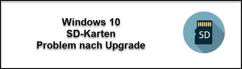 Sd Karte Wird Nicht Erkannt Pc.Sd Karte Wird Nicht Mehr Erkannt Windows 10 Update