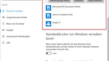 Windows Druckaufträge in Druckwarteschlange löschen