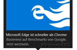 Edge und Onedrive Werbefenster und Hinweise bei Windows 10 abschalten