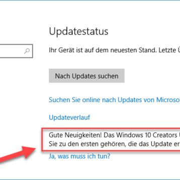 Gute Neuigkeiten! Das Windows 10 Creators Update ist unterwegs. Möchten Sie zu den ersten gehören, die das Update erhalten?