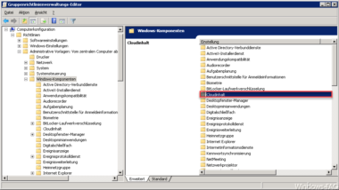 Windows Server 2008 R2 oder 2012 R2 Domänencontroller um Windows 10 Gruppenrichtlinien erweitern